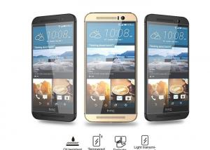 China 2.5D Curved Anti Oil HTC One M7 Screen Protector Shatterproof High Definition on sale