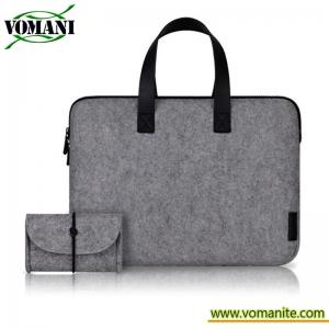 China Laptop Sleeve Case New Arrival Wool felt Laptop Case Bag for MacBook Air Pro on sale