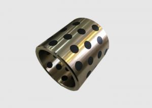 China Phosphor Cast Bronze Bearings Graphite Plugged Bushings Durable Material on sale
