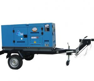 China 1500rmp 400v Trailer Mounted Generator , 20KW Diesel Standby Generator on sale