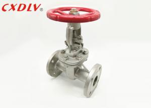 China GB Flanged Gate Valve With Rising Stem Sluice Resilient Seated on sale