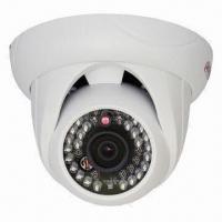 600TVL Waterproof IR Dome Camera, 1/3-inch HDIS Image Sensor