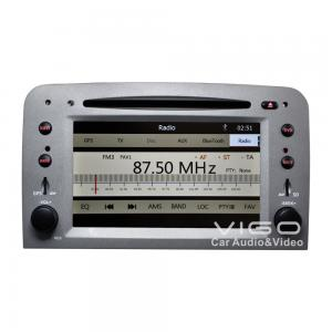 China Alfa Romeo Car Stereo Sat Nav DVD Player With Two SD Card Slots on sale