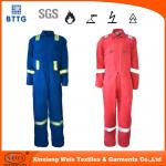 Combinação resistente da prova de fogo do rasgo alto do algodão NFPA2112 88/12/nylo para a indústria de soldadura