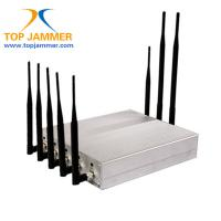 China 8 Bands Meeting Room RF Signal Jammer Blocker GSM 3G 4G LTE Wifi GPS Lojack Radio Mobile on sale