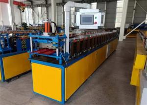 China 70mm Shaft standing seam roll forming machine with Hydraulic Cutting Device with 0.3-0.8mm Thickness on sale