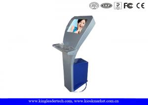 China Indoor Information Internet Touch Screen Self Service Kiosk For Interactive Manner on sale