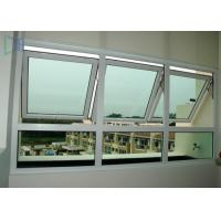 Single / Double Glazed Awning Windows , Powder Coating Vertical Awning Windows