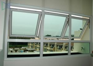 China Single / Double Glazed Awning Windows , Powder Coating Vertical Awning Windows on sale