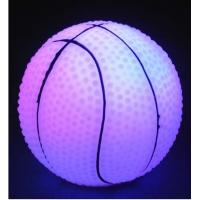 Best quality Led lighting Basketball for party and garden,Wholesale Led vinyl products