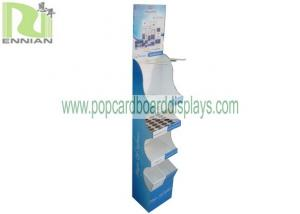 China Custom BB Cream Corrugated Pop Cardboard Displays Advertising For CDU on sale