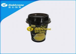 China Tazas plásticas de lujo de gama alta del yogur con la etiqueta de Inmold o la funda del encogimiento on sale