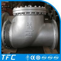 API 6D cast steel swing check valve