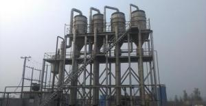China Simple Structure Multiple Effect Evaporator For Ammonium / Potassium Chloride Crystallization on sale