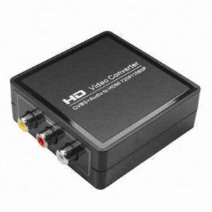China AV + HDMI to HDMI Converter, HD Video Converter, CVBS + Audio to HDMI 720p/1080p on sale
