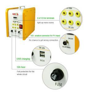 ... Quality Modular Design 30W Mini Home Solar Power System For Sale