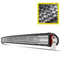 China Emark 12D 52 inch Curved  jeep  cree Led light Bar 12 volt Off road Driving Truck  Light on sale