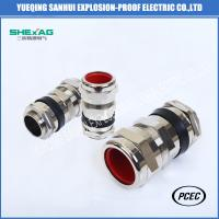 SHBDM-3/4 Double or Single Compression Flameproof Explosion Proof Cable Gland for zone1,zone2,zone21and zone22