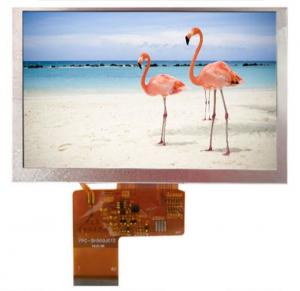China 800x480 RGB Interface 520cd/M2 3.3V 5 Inch Resistive Touch Screen on sale