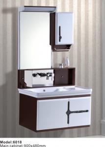 China Hangzhou Modern Hanging Bathroom Storage Cabinet with mirror on sale