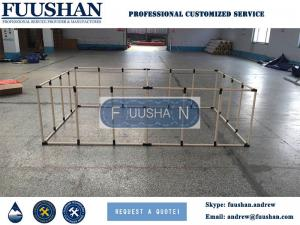 China Fuushan Hot Selling Aquarium Foldable Fish Farm Tank, Koi Showing Tank, Plastic Bucket for Fish Breeding on sale