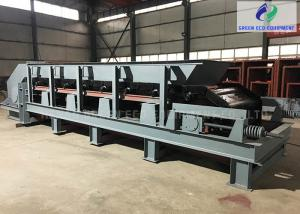 China Medium Duty Apron Feeder Conveyor With Hopper For Big Chunks Of Materials on sale