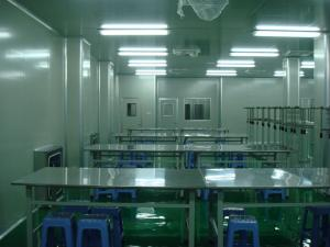 China Pharmaceutical Laboratory Clean Rooms / ISO Clean Room System Class 100000 on sale