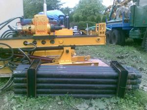 China Full Hydraulic Operated Drilling Rig Machine With Dth Hammer Drilling AK-60 on sale
