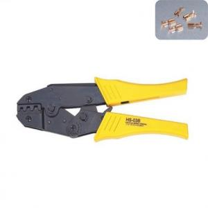 Strength Saving Crimping Plier for Non-Insulated Terminals AWG 22-10 FSB-056TD