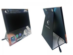 China custom design retails video display monitor, counter pos with 10 inch monitor screen on sale