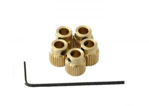 China Brass 3D Printed Metal Gears , Wire Extrusion 250Degree XYZ 3D Printer Parts on sale