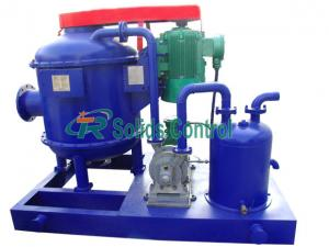 China ZCQ240 API Oil Drilling Mud Vacuum Degasser For Solid Control System API Certificate on sale