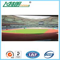 Ventilated Recycling Jogging Track Material Outdoor Running Rubber Track For School / Stadium