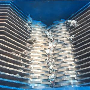 China Double shaft Plastic Shredder machine or plastic crusher machine Henan Ling Heng Machinery China on sale