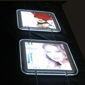 China Business advertising led animated acrylic light box on sale