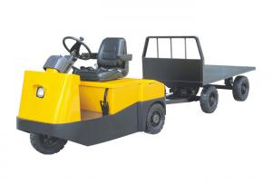 China Seated Type Airport Tow Tractor H Axle Design , Still Tow Tractor Multi Function on sale