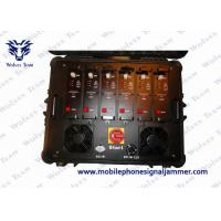 High Power Portable Multi Band VHF UHF Jammer for Military and VIP Vehicle Convoy Protection