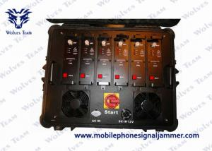 China Multi Band Vehicle Jammer VHF UHF Blocker For VIP Convoy Protection on sale