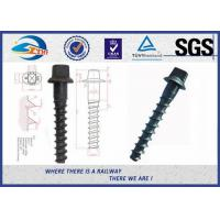 Customized Standard 35# Railroad Screw For Fastening Rail