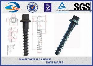 China Customized Standard 35# Railroad Screw For Fastening Rail on sale