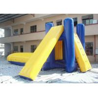 Durable Water Slides / Inflatable Slide Water Beach / Inflatable Floating Water Slide