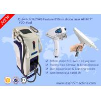China Q - Switch Multifunction Beauty Machine / Laser Hair Removal Machines For Salons on sale