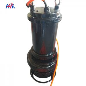 China 40m3/H 15m Slurry Sludge Submersible Pump Vertical Sewage Water For Cows on sale