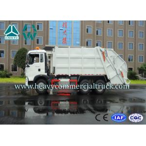 China Euro 2 Hook Lift Garbage Compactor Trucks 4x2 Sinotruk Howo T5G on sale