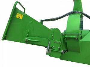 China PTO Driven Bx92r Tractor Wood Chipper Hydraulic With 4 Blades High Efficiency on sale