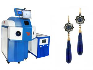 China Microscope Manual 1064nm YAG Laser Welding Machine For Jewelry , Water Cooling on sale