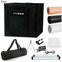 """40cm/16""""Photo Studio Photography 80LED Light Tent Backdrop Kit Cube Lighting Box"""