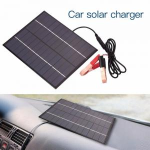 China 5.5W 12V Cars Battery Power Charging Lightweight Solar Panels Photovoltaic Silicon Solar PV Panels on sale
