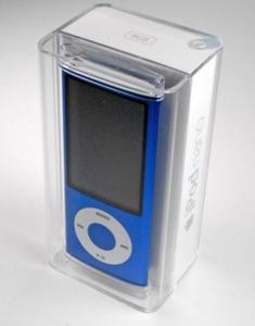 China Apple iPod nano 5th Generation Blue (8 GB) on sale