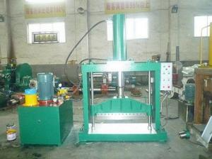 China Rubber bale cutter, Natural rubber block cutting machine on sale